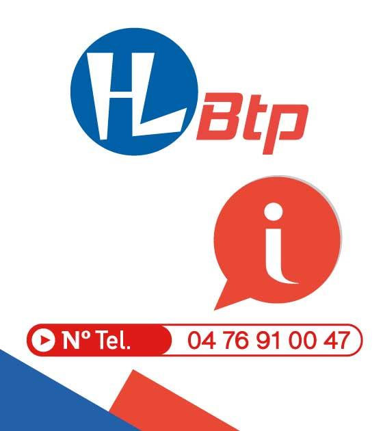 Téléphone HL BTP pour toute information: 04.76.91.00.47
