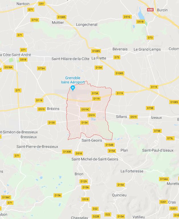 Nouvelle agence BTP - Siège Social HL BTP St-Etienne de St-Geoirs